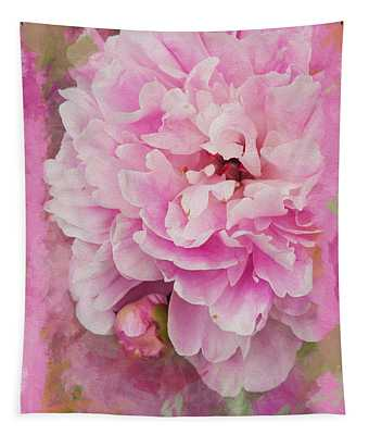 Pink Peony 2 Tapestry