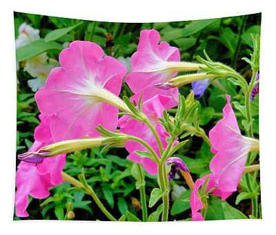 Pink Petunia Flower 1 Tapestry
