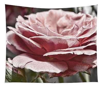 Pink Rose Faded Tapestry