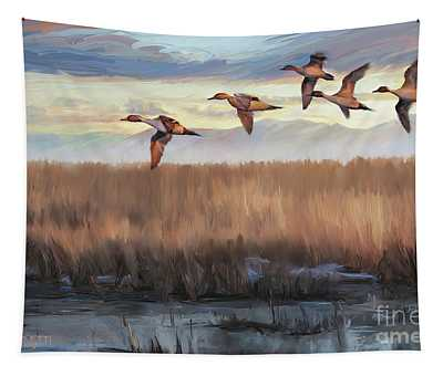 Pintail Fly By Tapestry