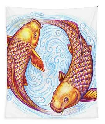 Pisces Tapestry