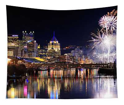 Pittsburgh 1  Tapestry