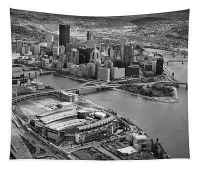 Pittsburgh 9 Tapestry