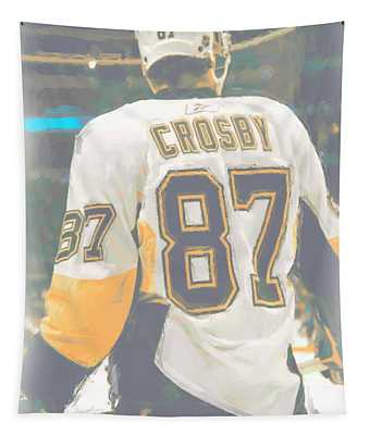 Pittsburgh Penguins Sidney Crosby Tapestry