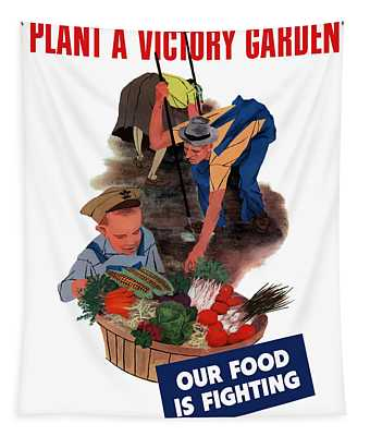 Plant A Victory Garden  Tapestry