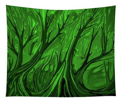 Play Green #h6 Tapestry