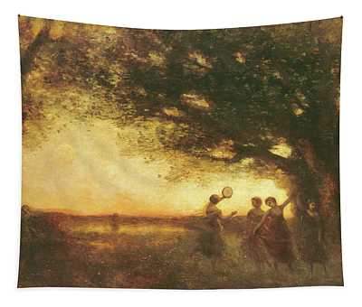Pleasures Of The Evening Tapestry