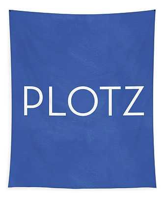 Plotz- Art By Linda Woods Tapestry