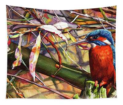 Pond Life Tapestry