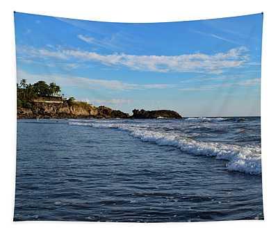 Poneloya Beach Before Sunset Tapestry