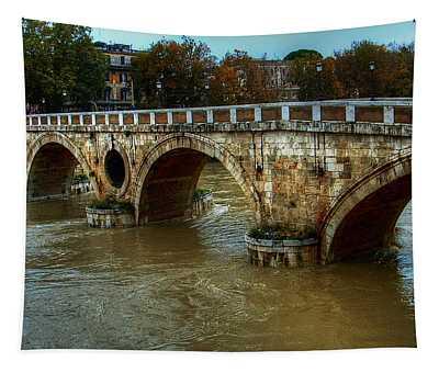 Ponte Sisto Bridge Rome Tapestry