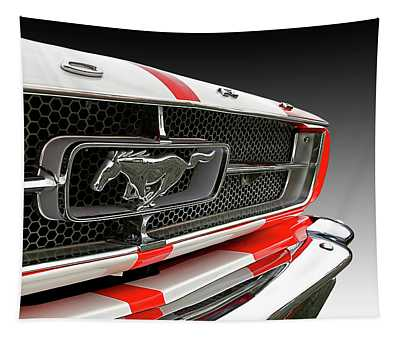Pony Car Grille Tapestry