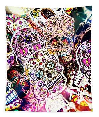 Pop Art Horrors Tapestry