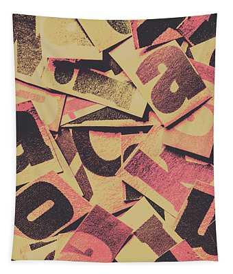 Pop Art Press Tapestry
