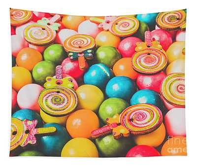 Pop Art Sweets Tapestry