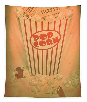 Pop Art Theatre Tapestry