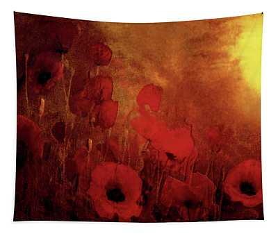 Poppy Heaven Tapestry