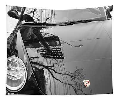 Porsche Reflections Tapestry