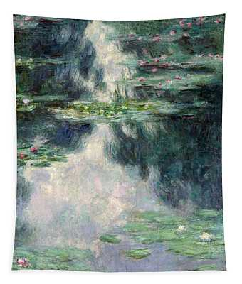Port-pond With Water Lilies-1907 Tapestry