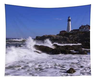 Portland Head Light I Tapestry
