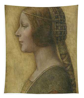 Portrait Of A Young Fiancee Tapestry