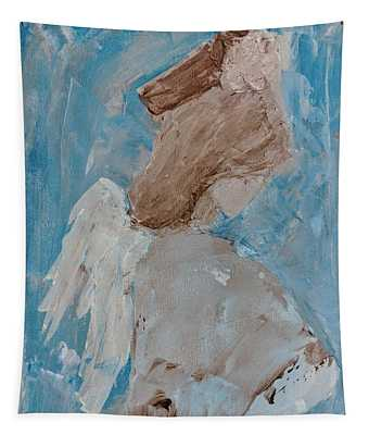 Portrait Of An Angel Tapestry