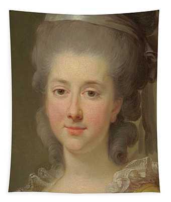 Portrait Of Countess Urszula Potocka, Nee Zamoyska  Tapestry