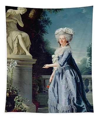 Portrait Of Marie-louise Victoire De France Tapestry