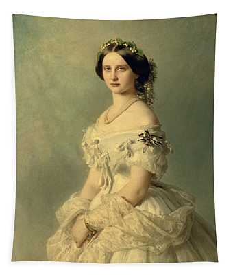 Portrait Of Princess Of Baden Tapestry