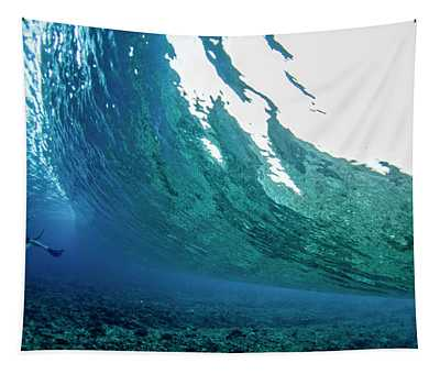 Poseidon Push Tapestry