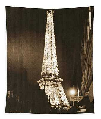 Postcard From Paris- Art By Linda Woods Tapestry