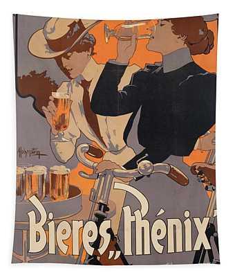 Poster Advertising Phenix Beer Tapestry