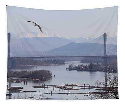 Port Mann Bridge Tapestry