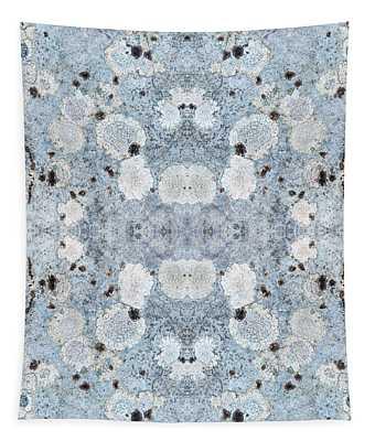 Powder Blue Pattern Tapestry