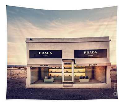 Prada Store Tapestry