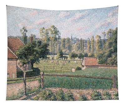 Prairie At Eragny, 1889 Tapestry