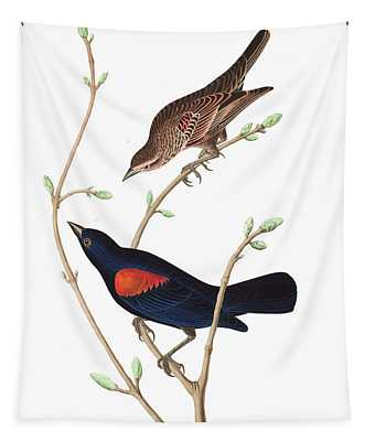 Prairie Starling Tapestry