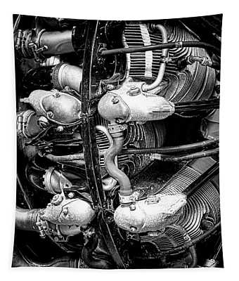 Pratt And Whitney Twin Wasp Tapestry