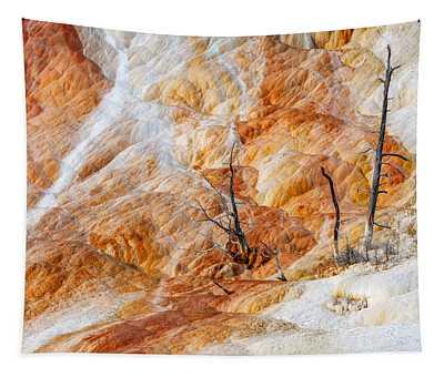 Prehistoric Trees Tapestry