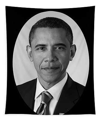 President Barack Obama Tapestry