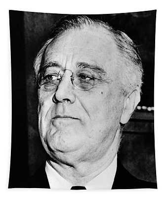 President Franklin Delano Roosevelt Tapestry