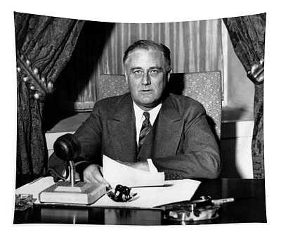 President Franklin Roosevelt Tapestry