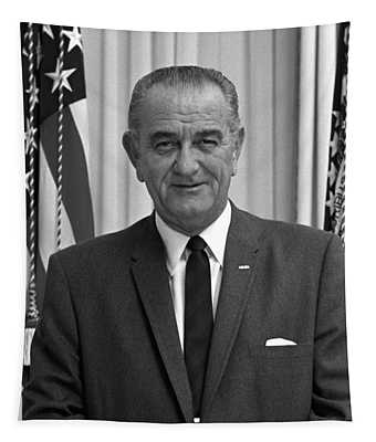 President Lyndon Johnson Tapestry