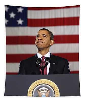 President Obama Tapestry