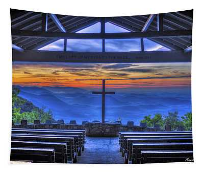 Pretty Place Chapel Sunrise 777  Tapestry