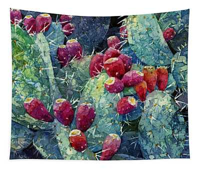 Prickly Pear 2 Tapestry