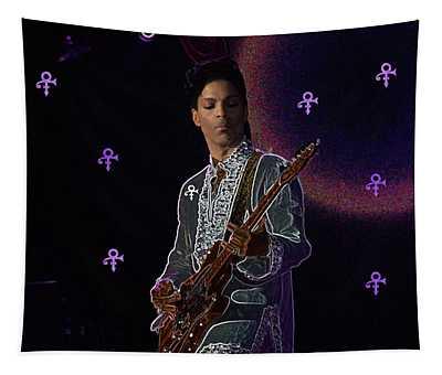 Prince At Coachella Tapestry
