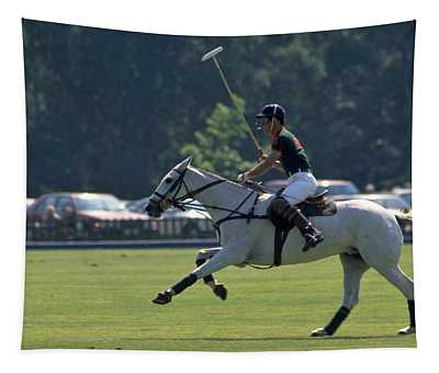 Prince Charles Playing Polo At Windsor Tapestry