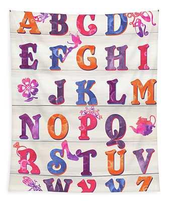 Princess Alphabet Tapestry