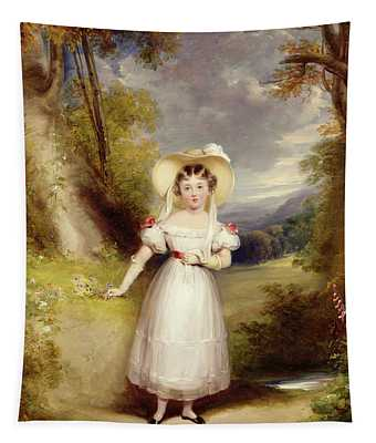 Princess Victoria Aged Nine Tapestry